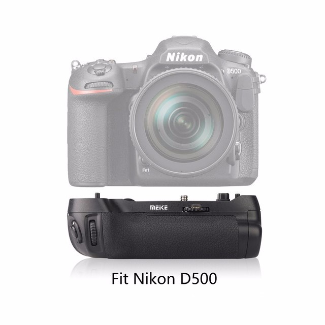 Meike MK-D500 Vertical Battery Grip Shooting for Nikon D500 Camera Replacement of MB-D17 meike vertical battery grip for nikon d7200 d7100 rechargeable li ion batteries as en el15 017209