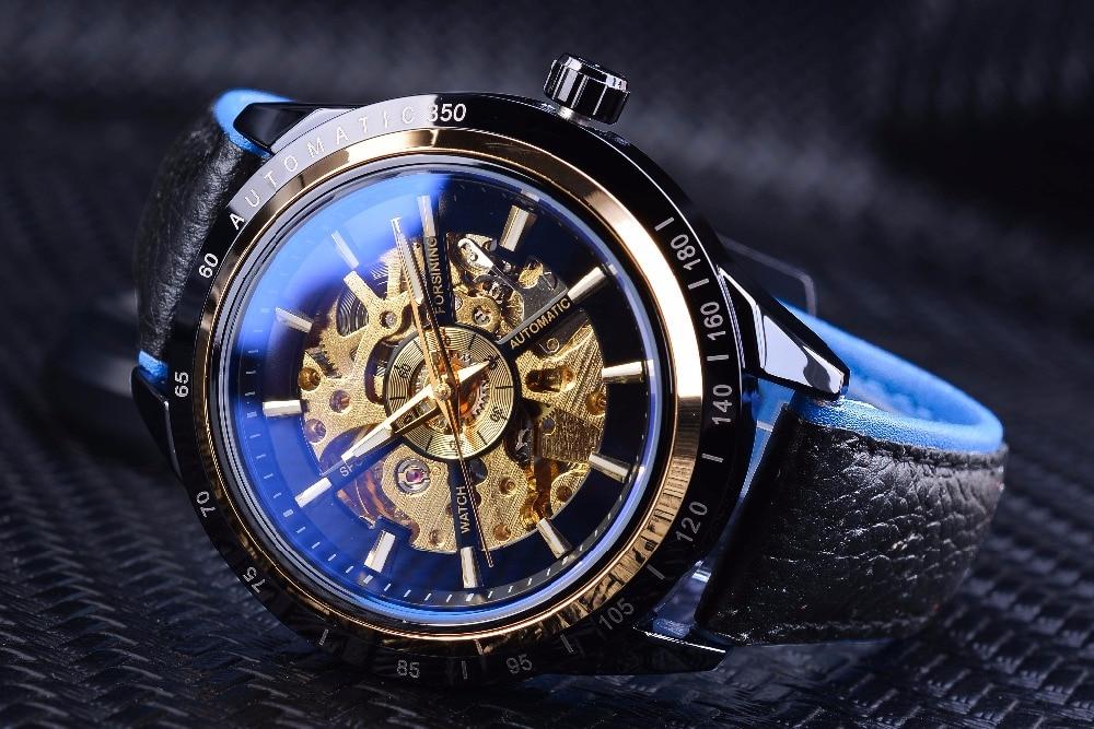 HTB17eZEqbSYBuNjSspfq6AZCpXaG Forsining Motorcycle Design Genuine Black Belt Waterproof Skeleton Men Automatic Watches Top Brand Luxury Mechanical Male Clock