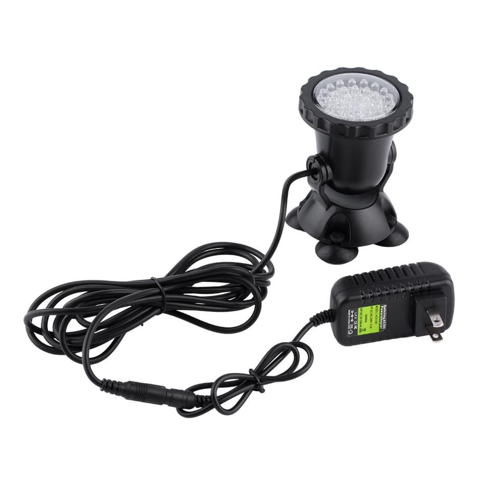36 LED Light Fish Tank Spotlight Waterproof Swimming Pool Pond Lamps ...