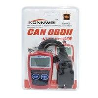10pcs/lot KONNWEI KW806 Universal Car OBDII Can Scanner Error Code Reader Scan Tool OBD 2 BUS OBD2 Diagnosis Scaner ELM327 V1.5