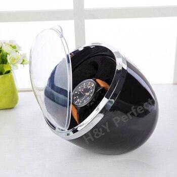 Di lusso Doppia Orologi Meccanici Watch Winder Per Gli Orologi Automatici Avvolgitore Multi-funzione 4 Modalità A Prezzi Accessibili Watch Winder Box