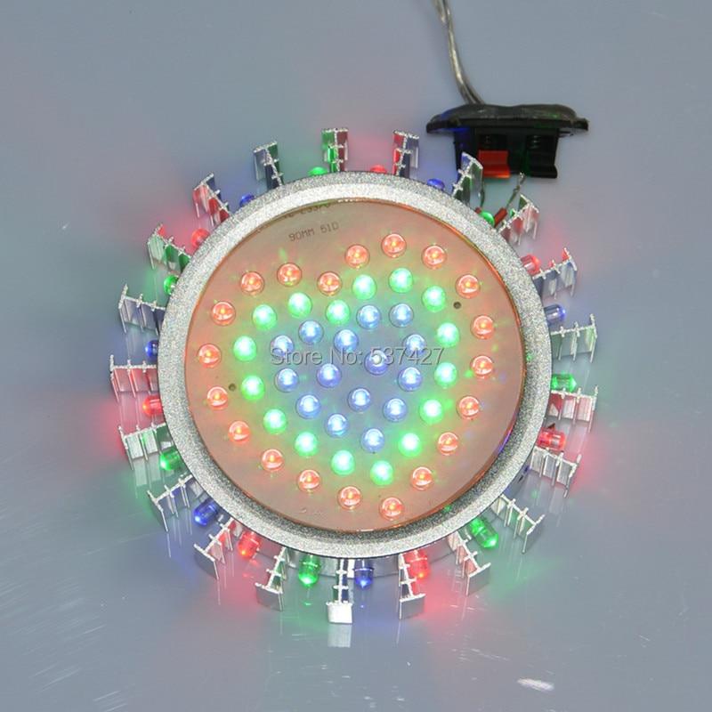 aliexpress : buy 220v input 3w rgb led wall lamp with multi