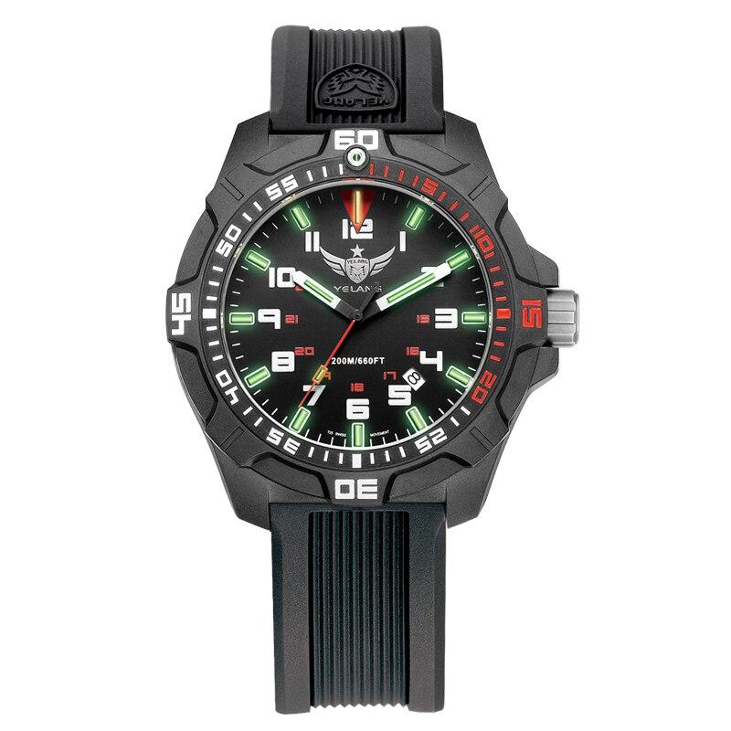 Men military watch for dive sport wristwatch tritium gas tube brand original design wholesale for Tritium dive watches