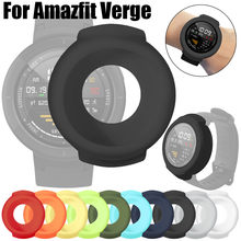 New High Quality Soft TPU Protection Silicone Full Case Cover for Huami Amazfit Verge Smart Watch Funda de silicona#10(China)