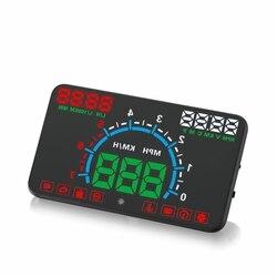 Neueste E350 Auto HUD Head-Up Display Kombinieren OBD & GPS Überdrehzahl Warnung System Projektor Windschutzscheibe Auto Elektronische Spannung alarm