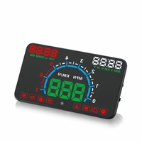 Newest E350 Car HUD Head Up Display Combine OBD &GPS Overspeed Warning System Projector Windshield Auto Electronic Voltage Alarm