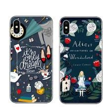 Cartoon Cute Princess Alice in wonderland Cases for iPhone 5 5S 6 6s plus 7  8 7c6e3c2ab0d9