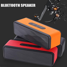 Gs805 portable mini speaker stereo Bluetooth wireless speaker Subwoofer Audio player support FM TF card radio microphone