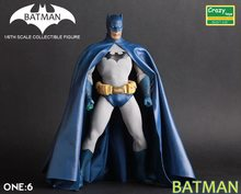 Venda quente 1 pçs 30 cm anime figura crazytoys batman figura de ação collectible modelo brinquedos brinquedos(China)