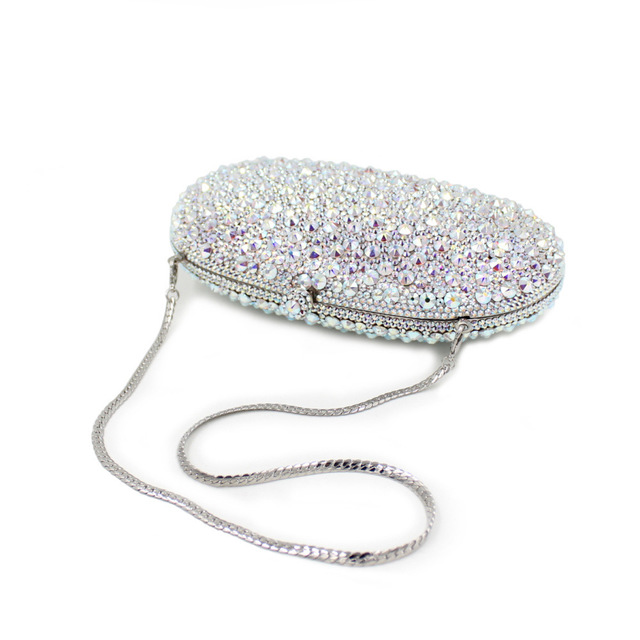 2017 new women bag European luxury exclusive drilling evening bags full diamonds dinner bag handbags purses day clutches sacs