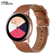 Laforuta Sport Watch Band for Samsung Galaxy Active 42mm Strap S2 20mm Quick Release Leather