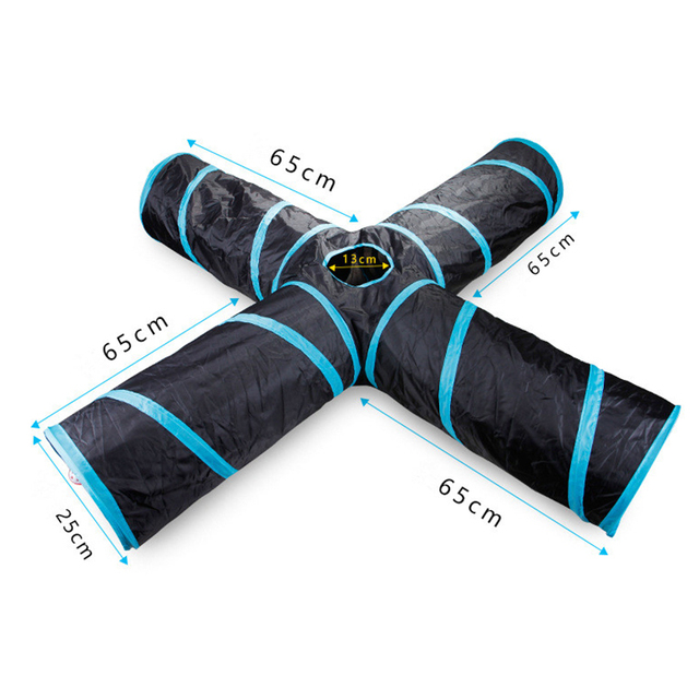 Collapsible Cat Tunnel Toy 4