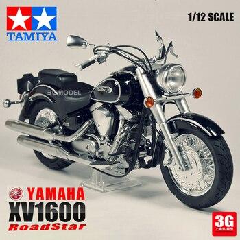 Assembling 1/12  Motorcycle Model 14080 XV1600  Motorcycle Model  Block Kit