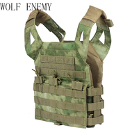 Airsoft Tactical Children Vest Molle Mini Protective Children's vest Kids Safety Children Clothing 1000D Plate Carrier Vest