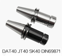 New DIN69871 sk40-er32 DAT40 JT40 SK40 ER32 ER25 ER20 ER16 70L 100L Spring Collet Chuck CNC Toolholder Milling Lathe Cutter