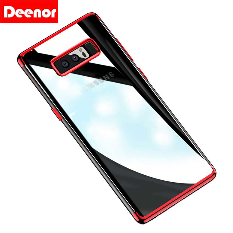 Soft TPU <font><b>Phone</b></font> <font><b>Case</b></font> For Sumsung Note 3 4 5 8 Transparent Cover For Sumsung S6 S7 <font><b>S8</b></font> S6/7Edge S8Plus <font><b>Case</b></font> Silicon Shell Capa