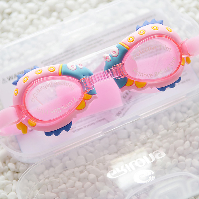 02e2b3b44e7 2019 Special Offer Sale Girls Funny Cartoon Styles Swimming Goggles Kids  Sports Wear Glasses Anti Fog