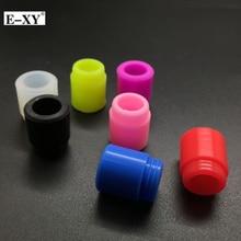E-XY Silicone Drip Tips 810 drip tips E-Cigarette wide bore Mouthpiece for Vape RDA Tank Atomizer 10pcs