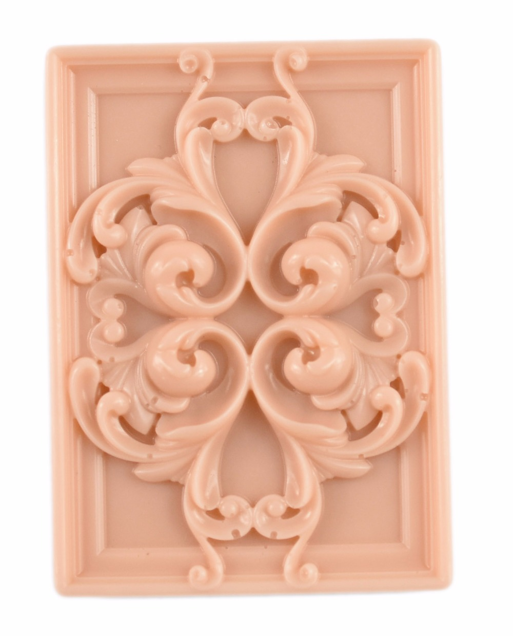 Longzang flower silicone 3d soap mold craft molds handmade