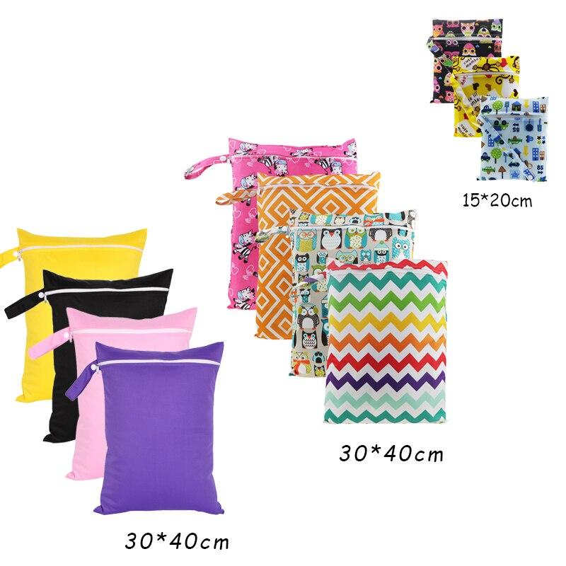 1 Pc Baby Tuch Windel Wet Dry Bag Tasche Für Pflege Pads Menstruations Pads Kinderwagen Mini Tote Wasserdicht Reusable Tuch Windel Tasche Erfrischung