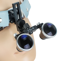 Oral Care 3 5X R Dental Surgical Medical Headband Binocular Loupes Glasses Magnifier Bullet Points