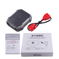Original XTOOL X100C Auto Key Programmer Function Greater than F102 F108 X100 C for iOS and Android DHL FREE Shipping
