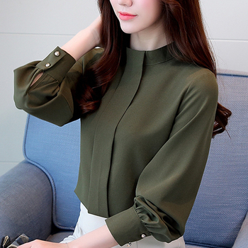 Solid Color Blouses 1