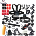 Gopro Accessories Floating Bobber Tripod stick Monopod Hand Head Chest Strap Adapter Set For Go pro Hero 4 3+ 2 5 xiaomi yi GS08