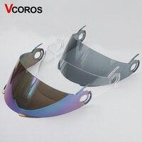 TORC T22 T22B Motorcycle Helmet Lens ORIGINE Vcan V210 V210B Flip Up Motorbike Helmet Sun Visor