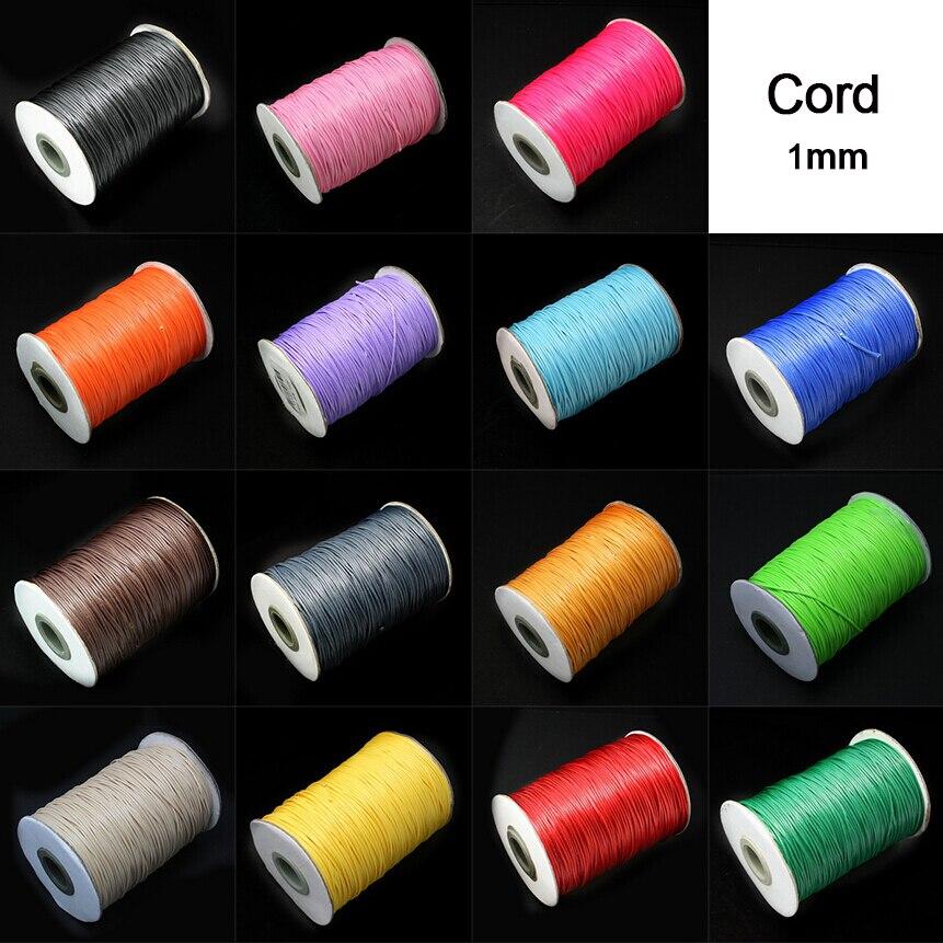 waxed cotton cord bracelet tutorial