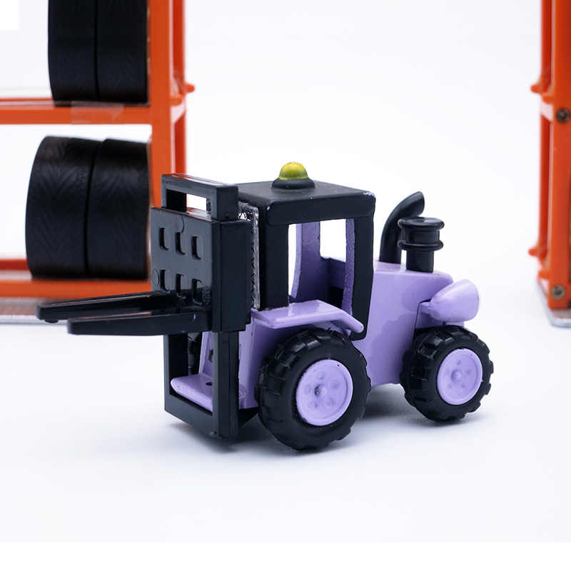 어린이 장난감, 밥 빌더, 다이 캐스트 모델 trix 어린이/소년 생일 선물로 자동차를 따라 가져 가라.
