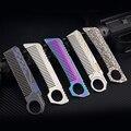 H1097 Selbst-verteidigung dekorative seil schneiden überleben multi-funktion 420 Edelstahl Haar Kämme EDC Taktische Tasche Kamm