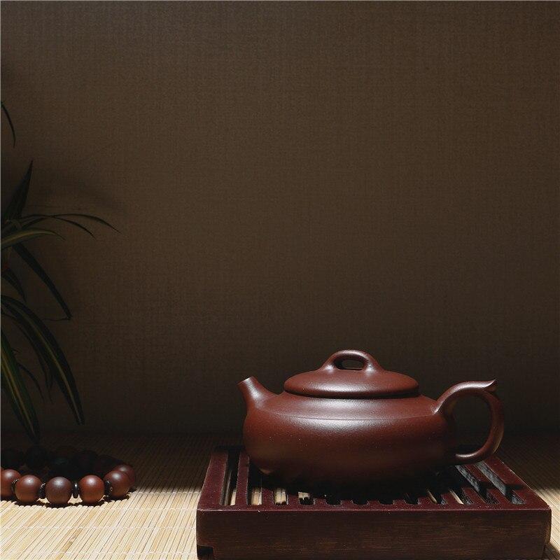 230 ml fábrica directa China Kung Fu Zisha tetera de arcilla púrpura genuino Yixing Paquete de caja de regalo envío gratis - 5
