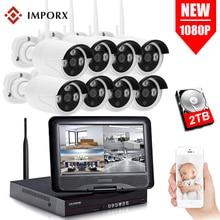 IMPORX 8CH 1080P Wireless NVR Kits 10