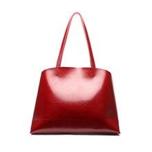 Soft Genuine Leather Female Shoulder Bags 2018 Big Capacity Vintage Women Leather Handbags for Party Retro Tote Bags недорго, оригинальная цена