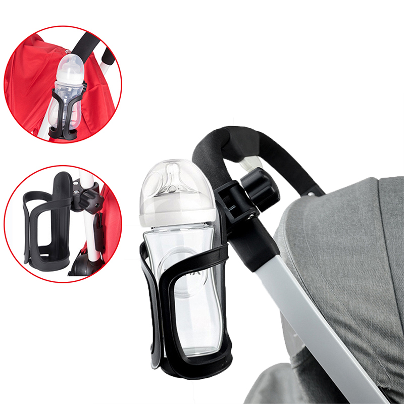 Baby Stroller Accessories 360 Degree Rotation Milk Water Bottle Holder Pram Cart Cup Rack For Pushchair Carriage Buggy Bicycle