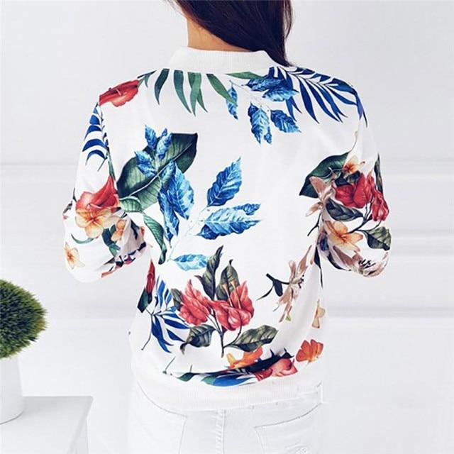 Floral Print Jacket  3
