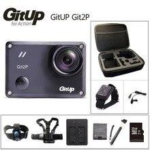 Oryginalny GitUP Git2P Action Camera 2 K Wifi Sport DV PRO Pełna HD 1080 P 30 m Wodoodporny mini Kamery 1.5 cal Novatek 96660 Cam