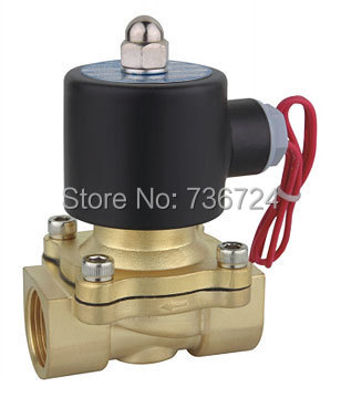 1/2  2/2 way direct acting solenoid valve  DC12V DV24V AC24V AC110V AC220V AC380V brass valve