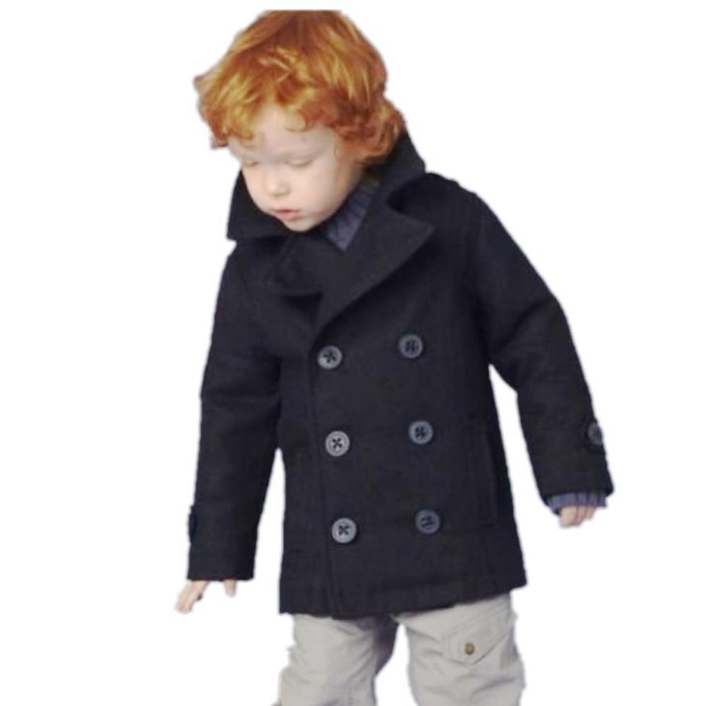 Nowa moda 3 ~ 7Age chłopcy dzieci płaszcze dla dzieci płaszcze i - Ubrania dziecięce
