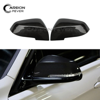 One Pair Rear View Mirror Cover For BMW F30 3series 2013 In Carbon Fiber Gloss Black Mirrors Covers Car Exterior Part For Sale
