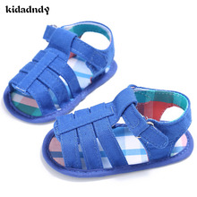 hot deal buy 2017 summer new boys soft leather sandals baby boys  shoes soft sole leather beach children sandals  yd212