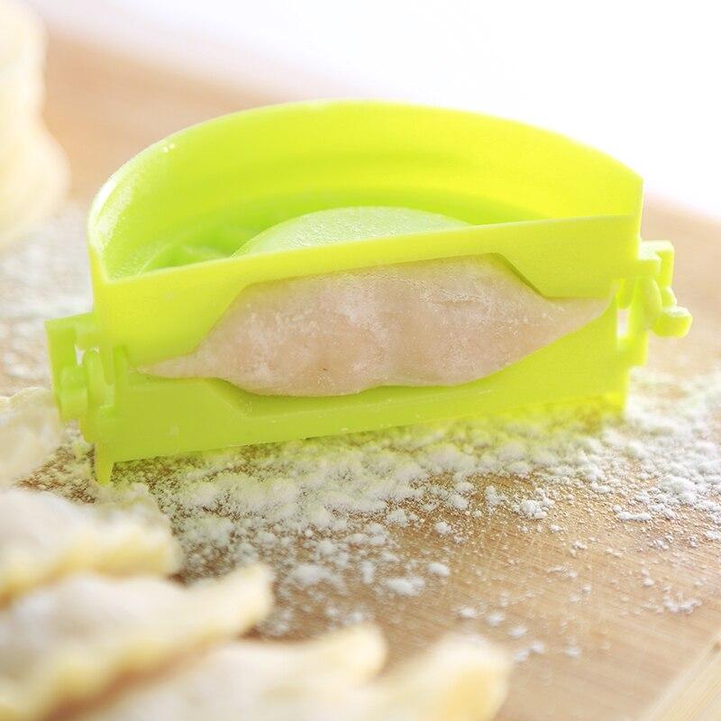 Simple Dumpling Tool Jiaozi Maker Device Easy DIY Dumpling Mold Kitchen Sweet BR