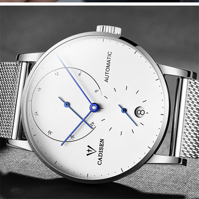 CADISEN Mens Watches Top Brand Luxury Automatic Mechanical Watch Men Full Steel Business Waterproof Fashion Sport Watches C1030CADISEN Mens Watches Top Brand Luxury Automatic Mechanical Watch Men Full Steel Business Waterproof Fashion Sport Watches C1030