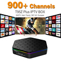 Europa IPTV Canal Árabe Francês Céu É DE REINO UNIDO Android 6.0 TV caixa S912 T95ZPLUS Esporte Apoio Canal Plus Francês Iptv Set Top Box