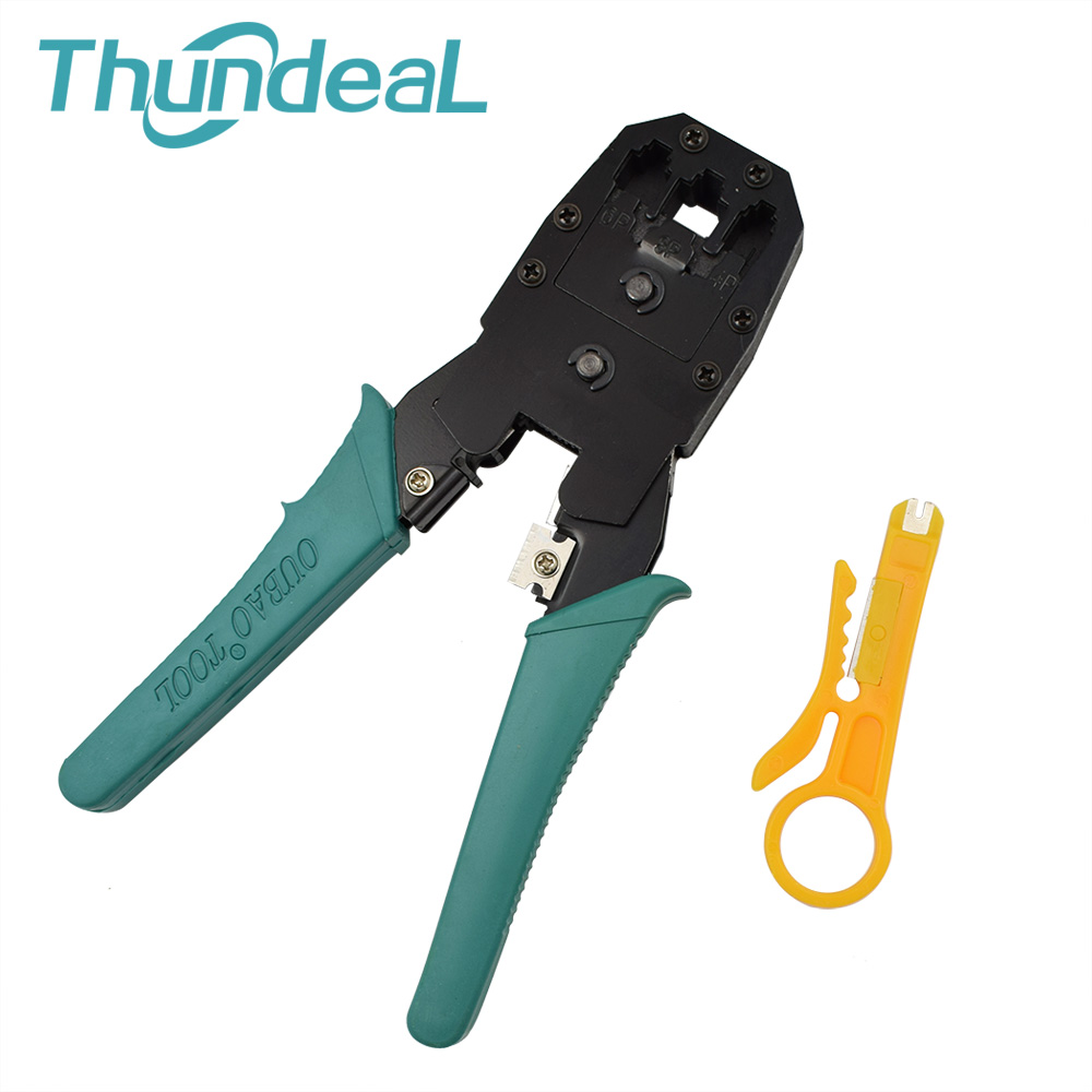 Convenient Multi Tool RJ45 Hand Tools Crimper Alicate Crimp PC Network RJ45 RJ11 Wire Cable Herramientas for 8P8C 6P6C 4P4 Plugs