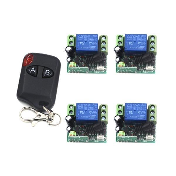 все цены на MITI-New 12V 1CH 433MHz Learning Code Receiver Module + Digital Wireless Remote Control Switches SKU: 5351 онлайн