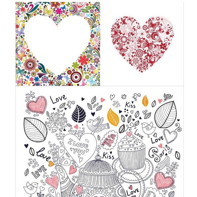 Secret Garden Cafe Women Lady Girls Adult Child Coloring Book 1PC Best Christmas Gif T Free