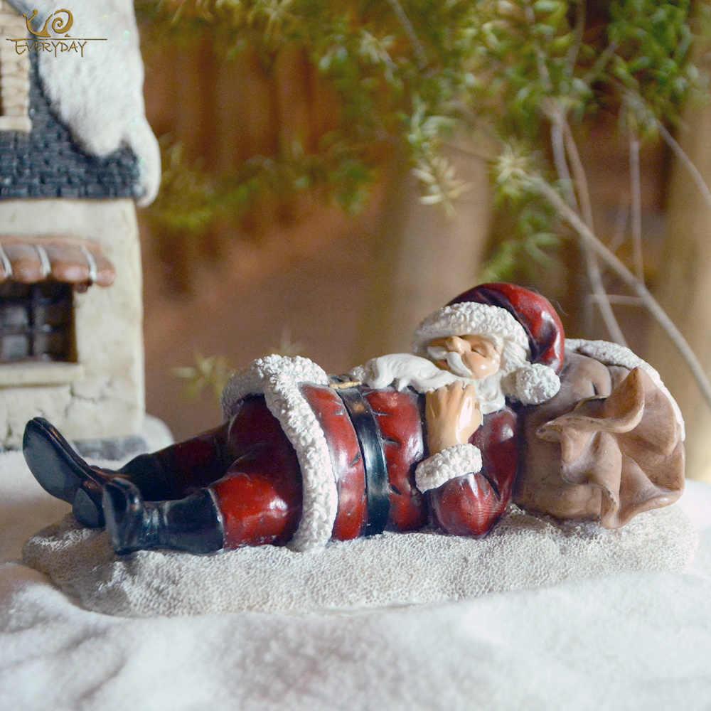 日常コレクションクリスマスオーナメントの装飾樹脂サンタクロースクリスマスホリデークリスマスツリー