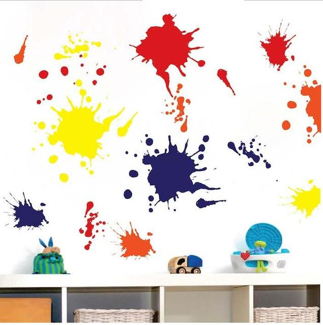Ink Splash Wall Decals Wall Stickers Bedroom Stickers Room Decor Decal  Removable Wallpaper Part 81